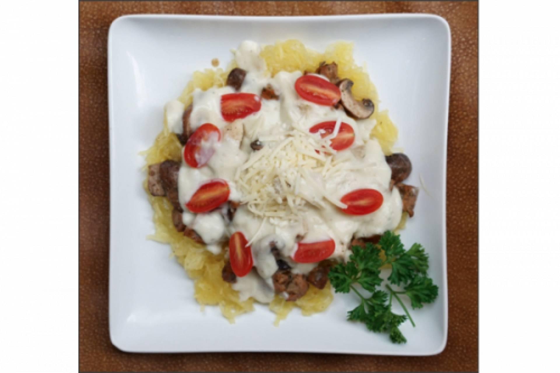 KETO Chicken Cauliflower Alfredo