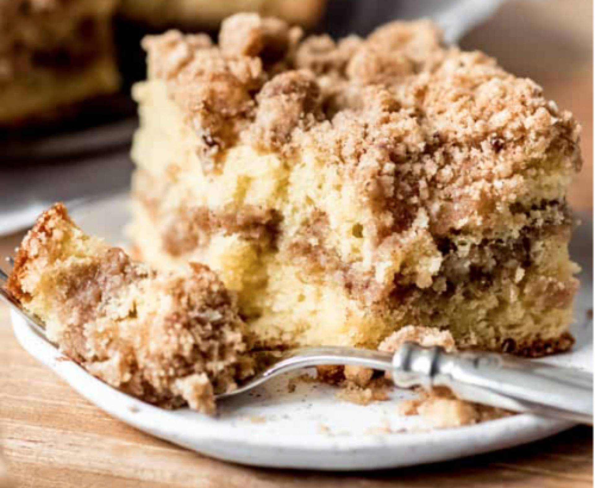 Cinnamon Coffee Cake with Cold Brew