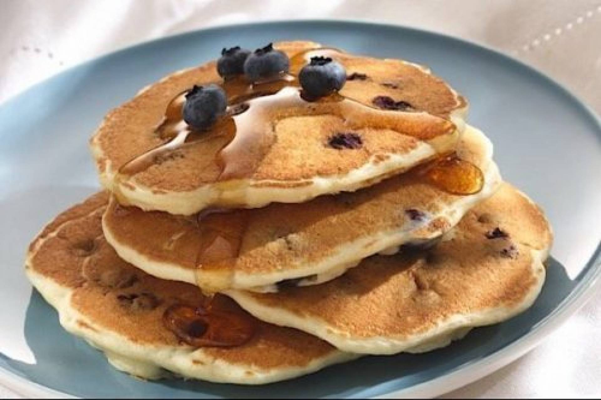 Peanut Butter and Chocolate Protein Pancakes*