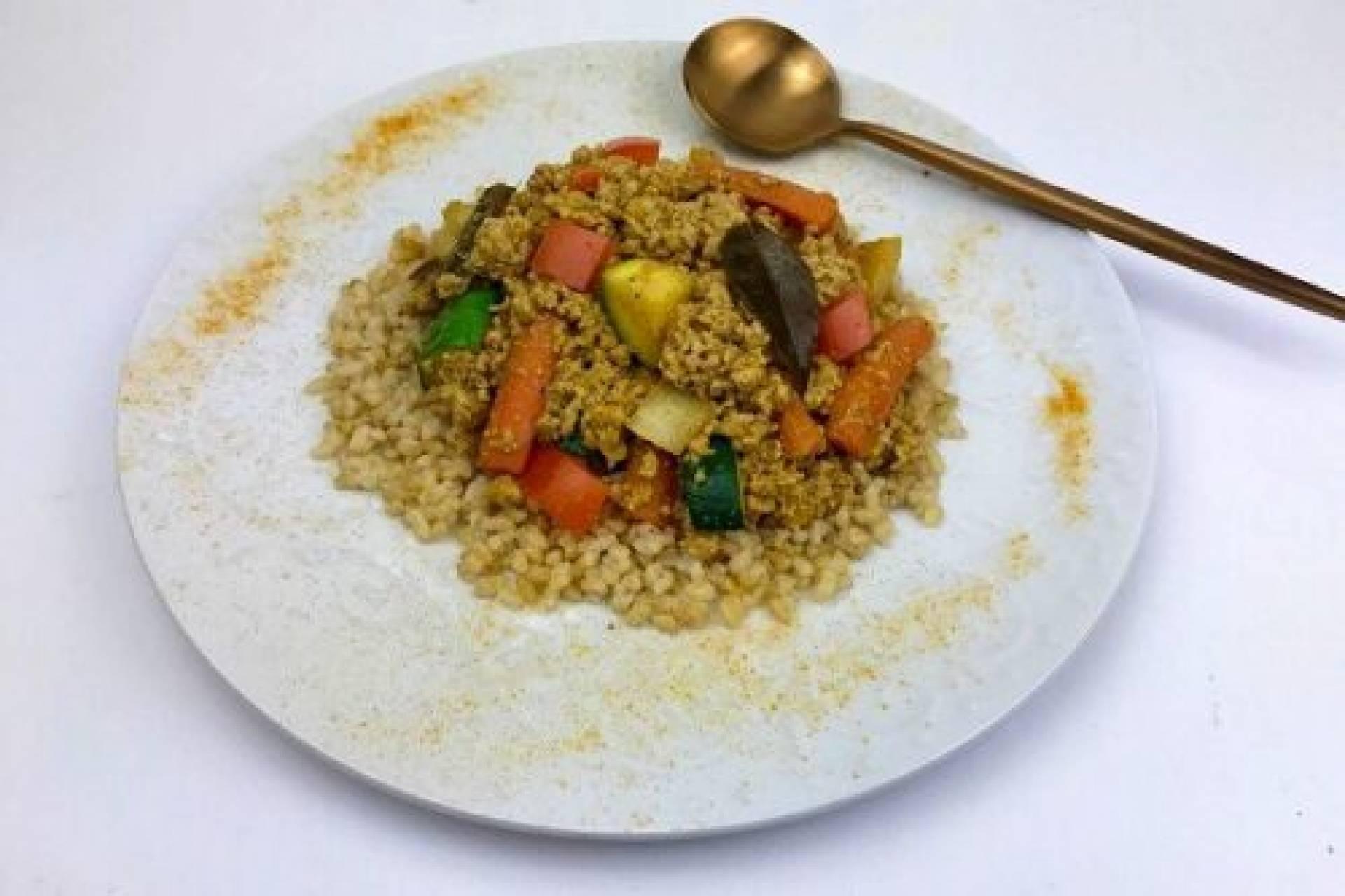 KETO Turkey Curry Bowl
